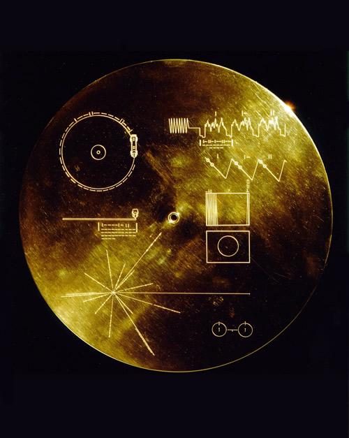 ボイジャー探査機のゴールデンレコード