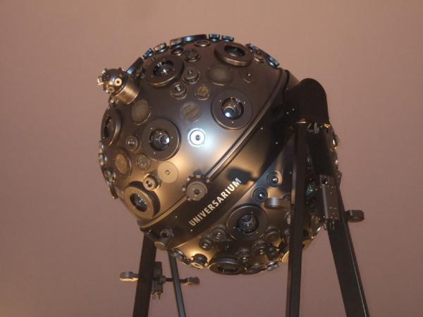 名古屋市科学館のプラネタリウム投影機