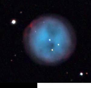 おおぐま座のふくろう星雲(M97)