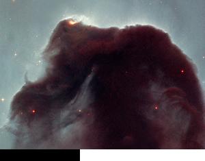 オリオン座の馬頭星雲