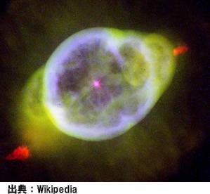 うみへび座の木星状星雲(NGC3242)