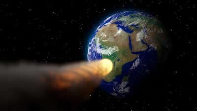 ハレー彗星 衝突