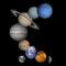 太陽系惑星の順番についてまとめてみました。